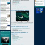 web design for IsItSharkWeek.com